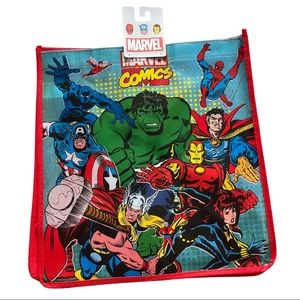 Marvel Comics Superhero Large Reusable Tote Bag